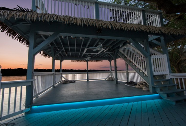 Permalink to Outdoor Deck Floor Lighting