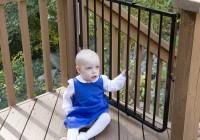 Outdoor Deck Gates Safety