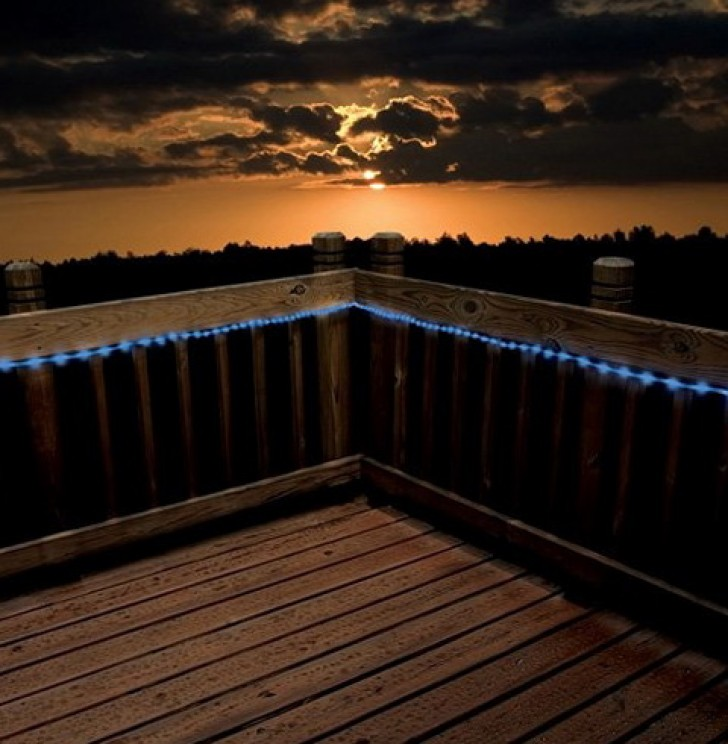 Permalink to Outdoor Deck Rope Lighting