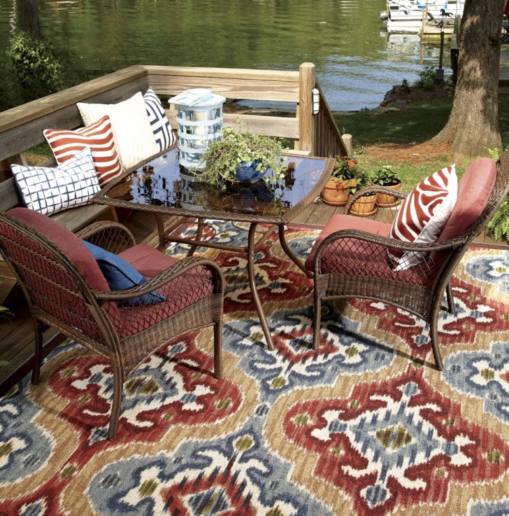 Permalink to Outdoor Deck Rugs Lowes