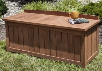 Outdoor Deck Storage Bench