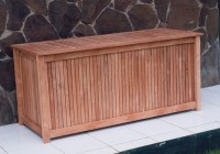 Outdoor Deck Storage Box Plans