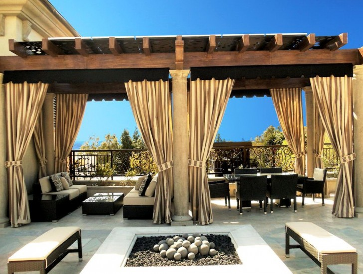 Permalink to Outdoor Patio Curtain Ideas