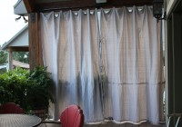 Outdoor Privacy Curtains For Deck