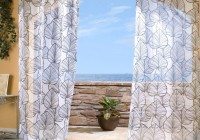 Outdoor Sheer Curtains 108