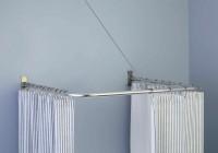 outdoor shower curtain rod