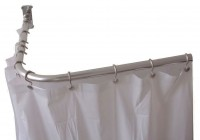 Outdoor Shower Curtain Rod U Shaped