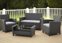 Outdoor Wicker Furniture Cushions Sets