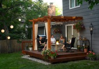 Outside Deck Ideas With Pergola