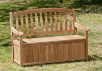 Outside Storage Bench Plans