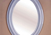 Oval Bathroom Mirror Frames