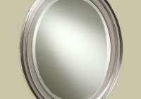 Oval Bathroom Mirrors Brushed Nickel