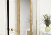 Over The Door Jewelry Armoire With Mirrored Front