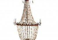 Oyster Shell Chandelier By Currey & Company
