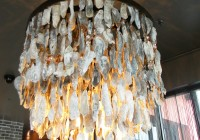 Oyster Shell Chandelier Savannah