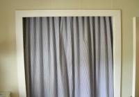 panel curtain closet door