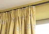 Pencil Pleat Curtains Bay Window