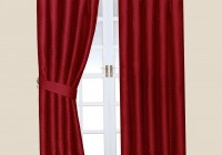 Pencil Pleat Curtains Red