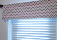 Pink And Grey Chevron Curtains