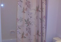 pink and grey shower curtains