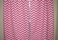 Pink Chevron Blackout Curtains