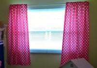 Pink Polka Dot Blackout Curtains