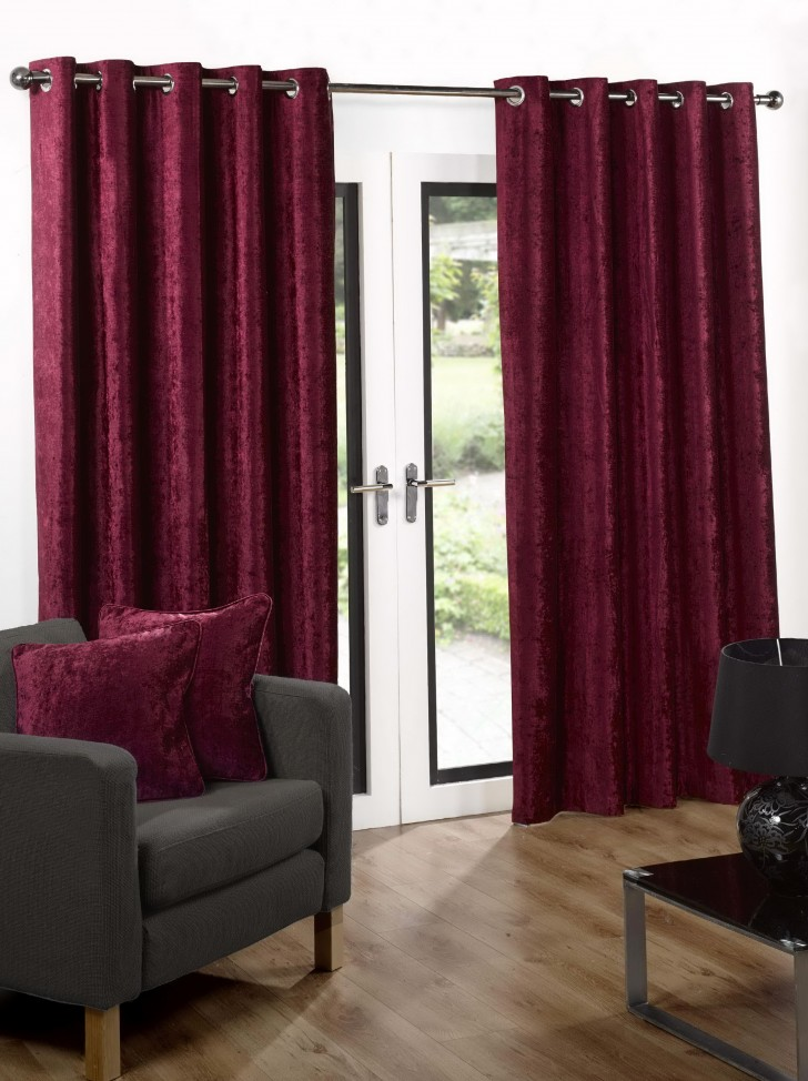 Permalink to Pink Velvet Curtains Sale