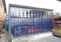 Plastic Strip Door Curtain