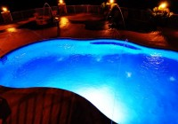 Pool Deck Jets Led