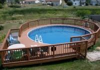 Pool Deck Plans 27 Foot Round