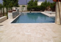 Pool Deck Travertine Pavers Or Kool Deck