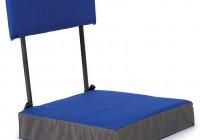 Portable Seat Cushion For A Bleacher Seat