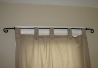 pottery barn curtain rod brackets