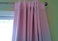 pottery barn curtain rods iron