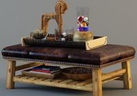 Pottery Barn Ottoman Coffee Table