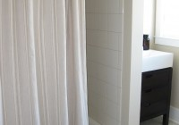 Pottery Barn Ticking Stripe Shower Curtain