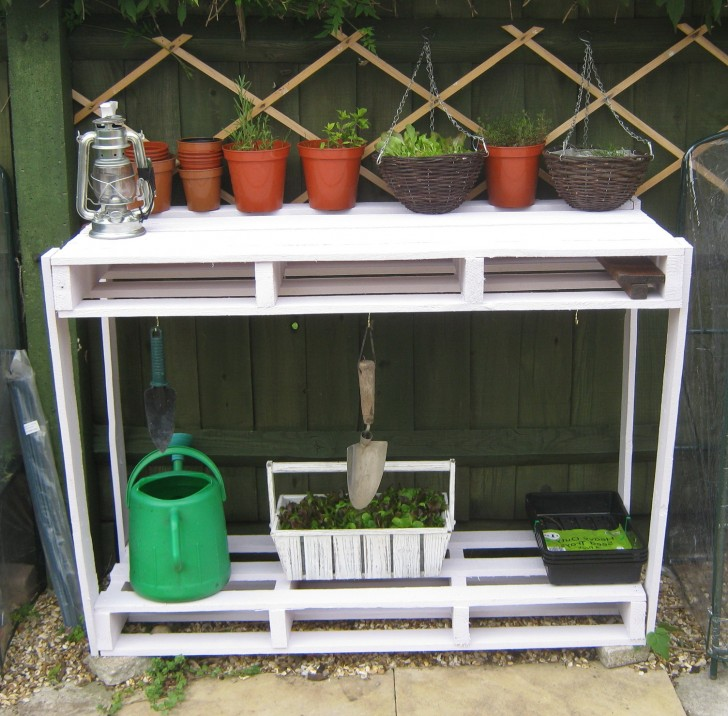 Permalink to Potting Bench Ideas Pinterest