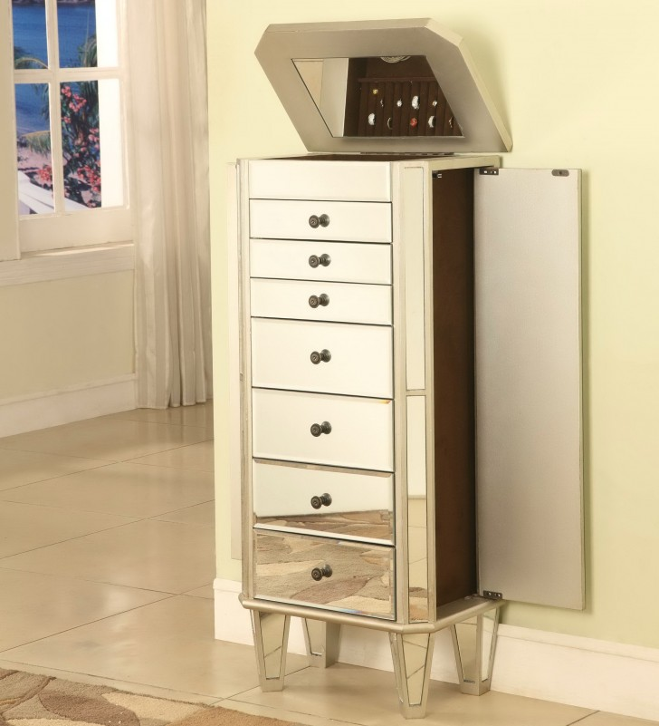 Permalink to Powell Jewelry Armoire With Mirror