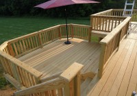 Pressure Treated Decks Pictures