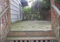 Pressure Wash Deck Before Sealing