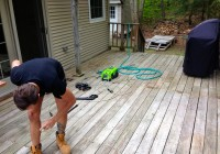 Pressure Washing Deck With Bleach
