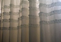 Pretty White Shower Curtains