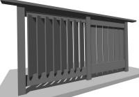 Privacy Deck Railing Designs