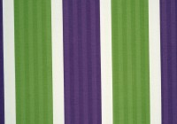 Purple And Green Striped Curtains