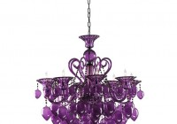 Purple Chandelier For Girls Room