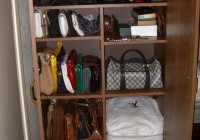 Purse Closet Organizer Pinterest