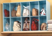 Purse Organizer Closet Ideas