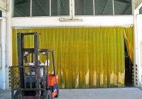 Pvc Strip Curtains Installation