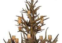 real elk antler chandelier