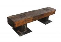 Reclaimed Wood Bench Outdoor